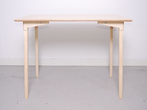 Acrylic Desk Chair Plywood Table : A.C Projects