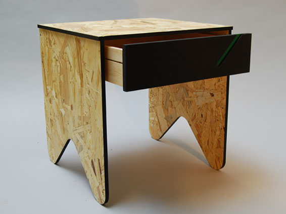 Furniture Reclaimed Desk Chair Coffee Table OSB Tables Side Table ...